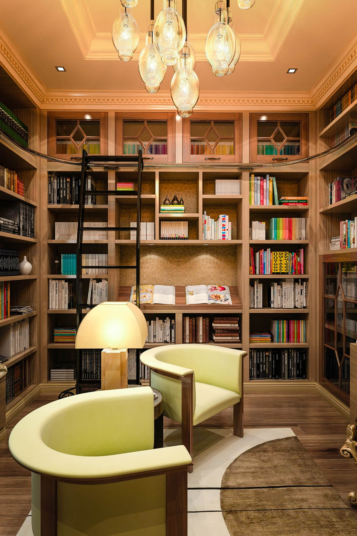 Home Library Cabinets Custom Designs Closet Factory