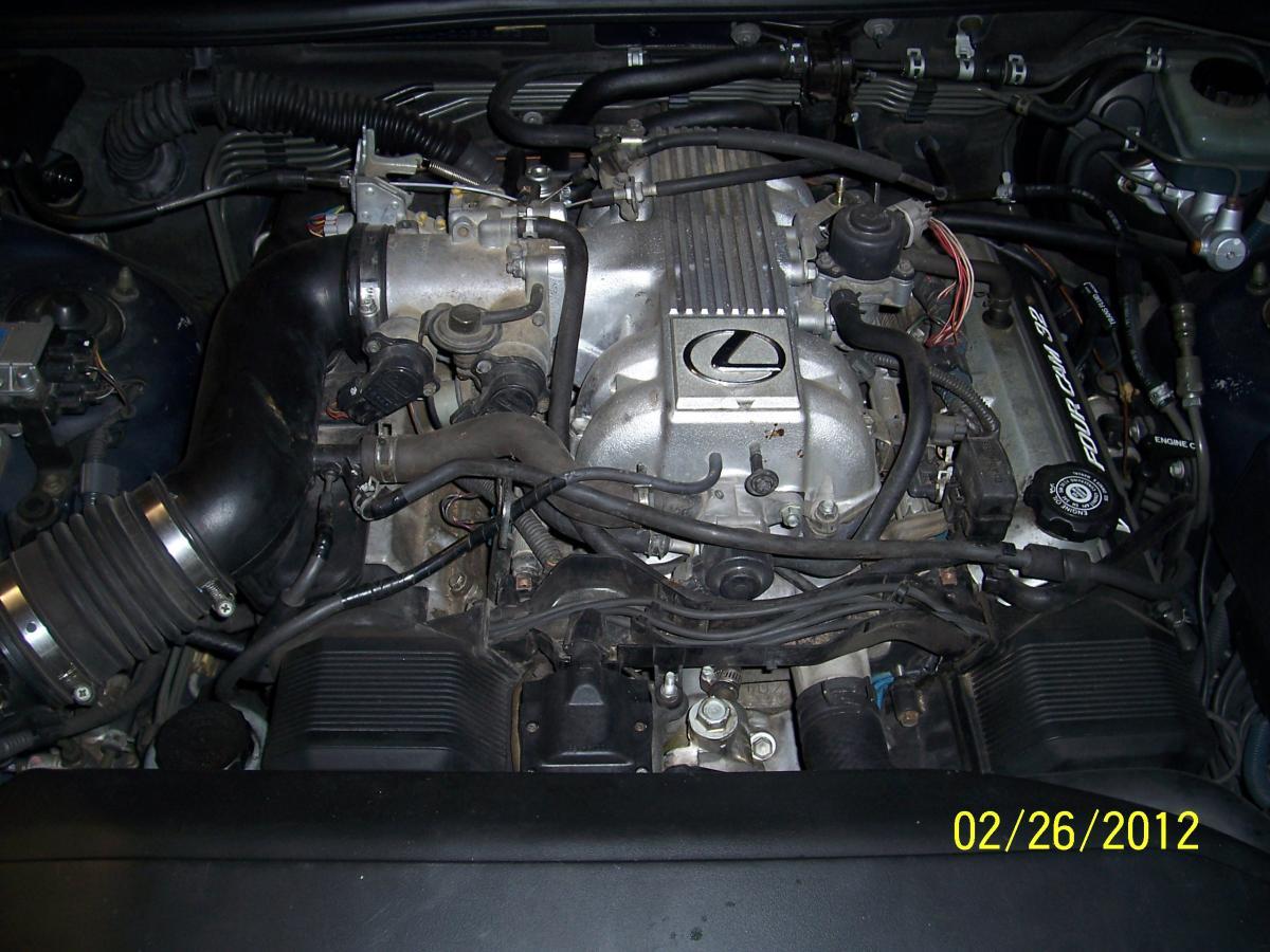 1994 Lexus Ls400 Vacuum Hoses Diagram St205 Ecu Wiring