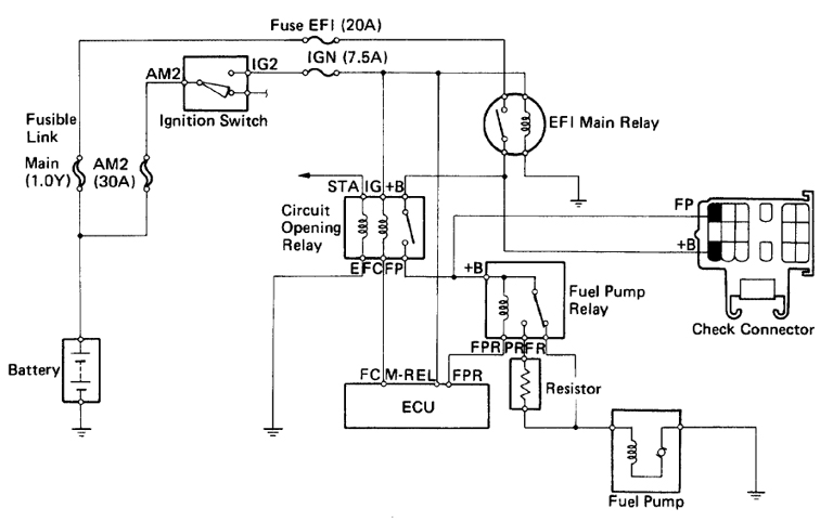 Running Gas Vapor Engine