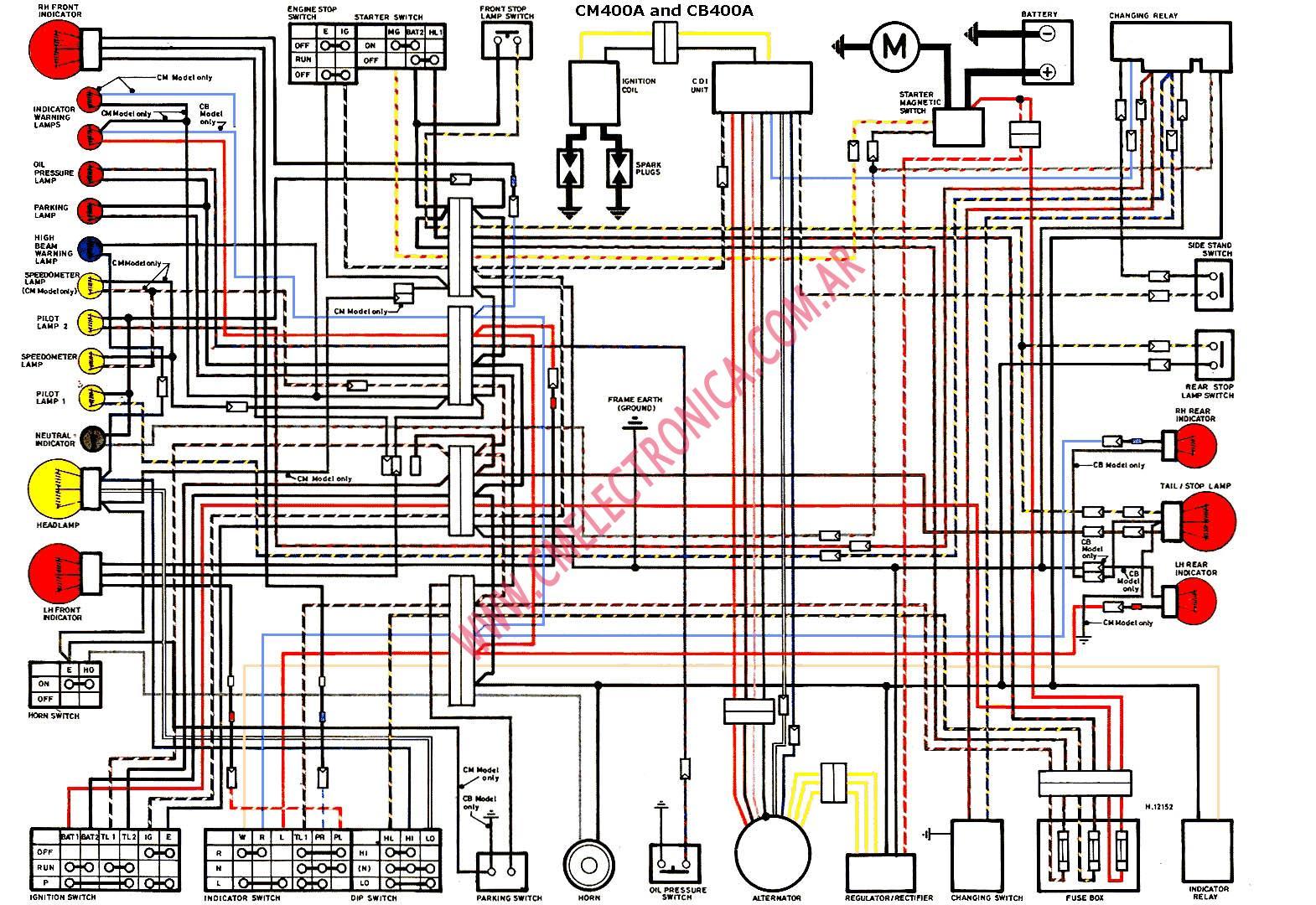 Kawasaki Bayou 400 Electrical Diagram Wiring