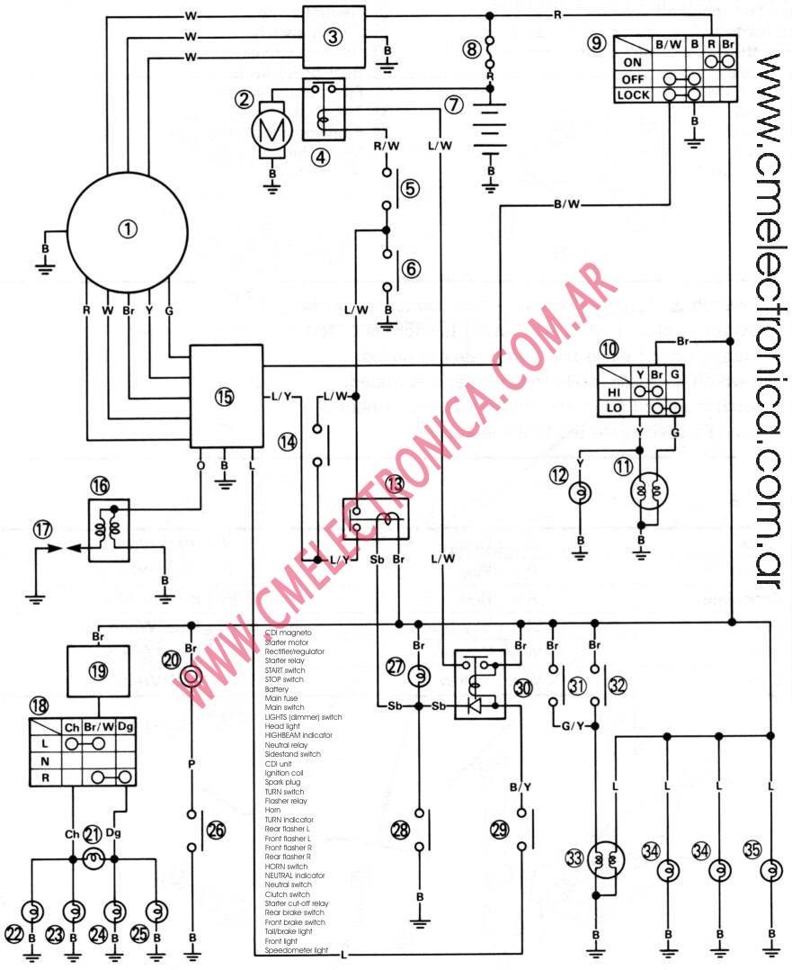 97 yamaha xt enduro wiring diagram 2000 ktm 250 wiring schematics at ww5 ww