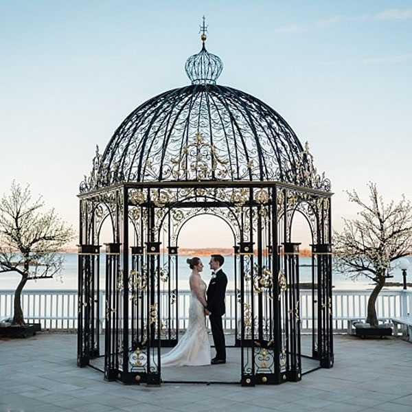 Beautiful Small Metal Decor Art Wrought Iron Gazebos For Wedding Ceremony For Sale Iok 254 You