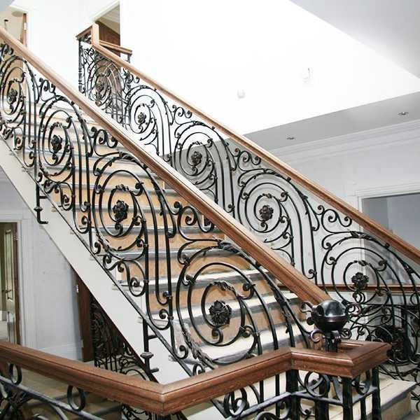 Wrought Iron Handrails For Outdoor Steps You Fine Sculpture | Wrought Iron Steps Outdoor | Wood Interior | Current | Iron Handrail | Staircase | Backyard