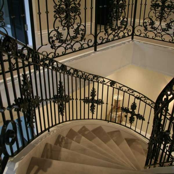 Iron Products Cutomized Luxury Wrought Iron Gate Wrought | Stair Banisters For Sale