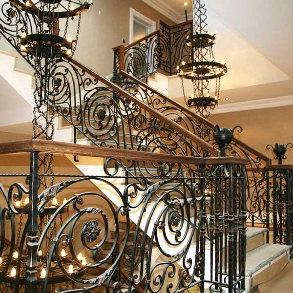 6 Faqs About Custom Wrought Iron Balustrades You Fine Sculpture | Iron Balusters For Sale | Metal | Wood Iron | Indoor | Rectangular | Forged Steel