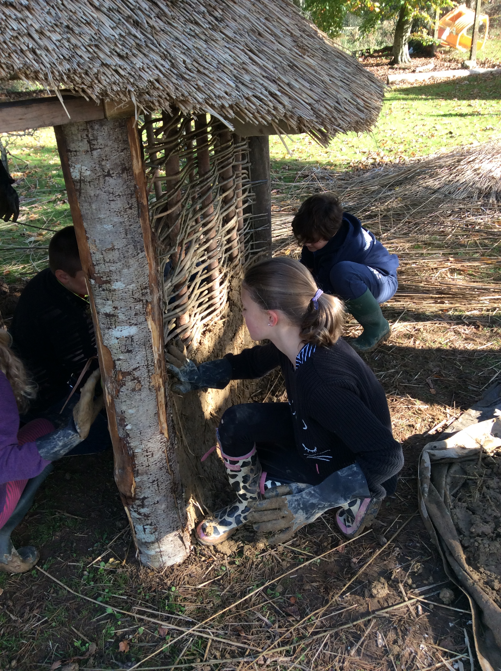 Build An Anglo Saxon House In Your School Edwards Amp Eve