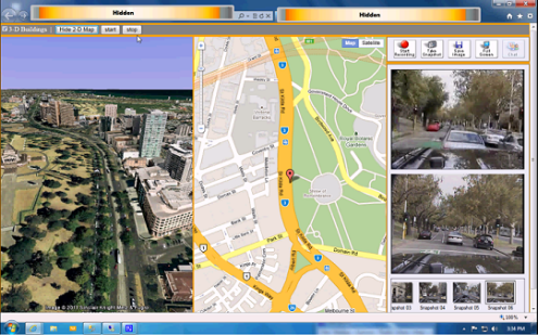 Animating Google Earth  3D    Map  2D  for Live GPS via Ajax and     Click here to view demo