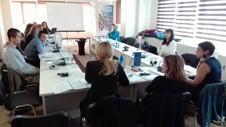 1st working group meeting with the aim to review, expand ...