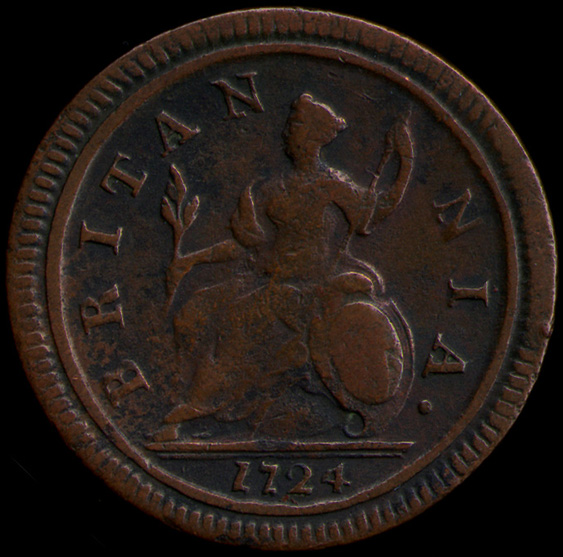 Regal British Copper Halfpence