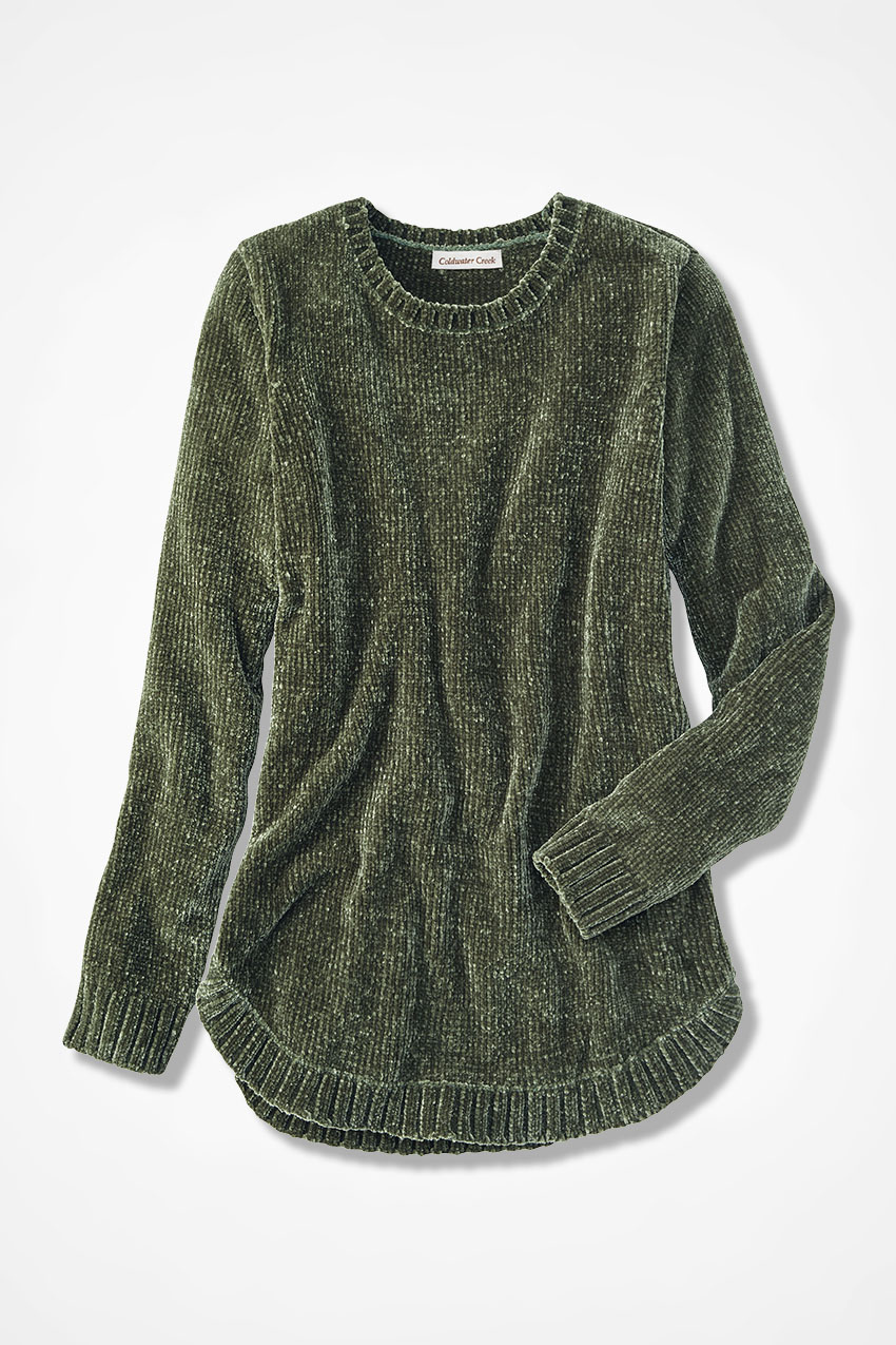 Chenille Tunic Coldwater Creek