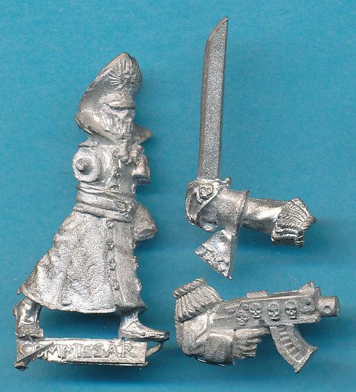 Lasgunpacker: Steel Legion Commissar Conversion