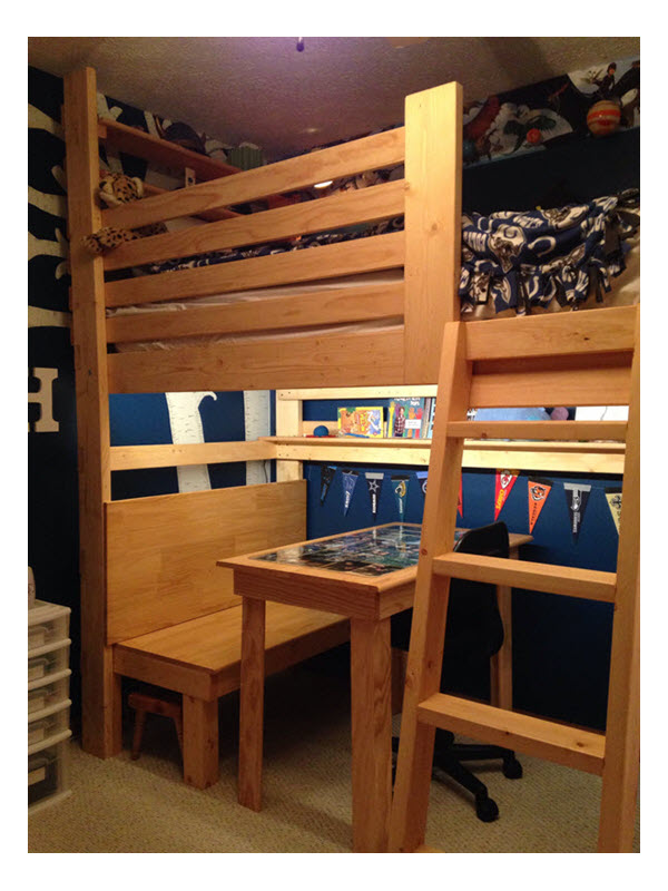 Bedroom Makeovers Amp Custom Bunk Amp Loft Beds Page 2