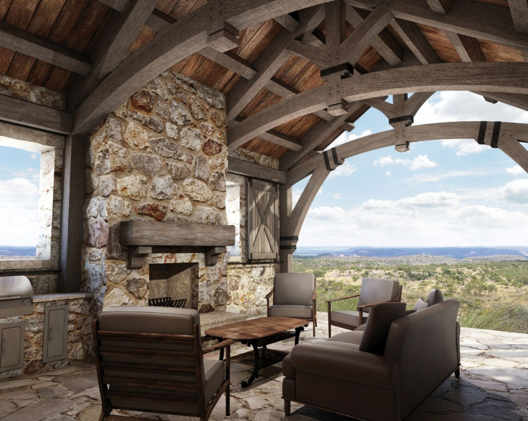 Hill Country Ranch 5 131 Sq Ft Colorado Timberframe