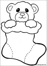 christmas coloring pages for preschoolers # 57
