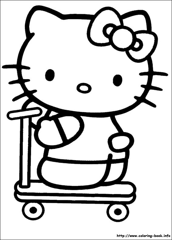 List of Picture Hello Kitty For Coloring Pict - Best Pictures