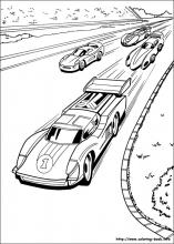 hot wheel coloring pages # 18