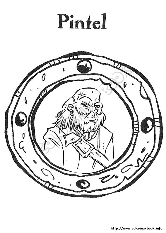 pirates of the caribbean coloring pages # 33
