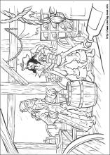pirates of the caribbean coloring pages # 22