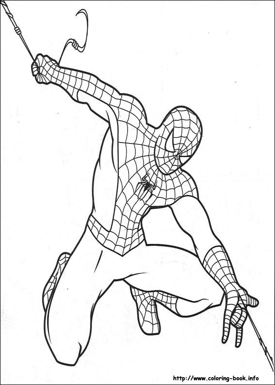 coloring pages of spiderman # 12
