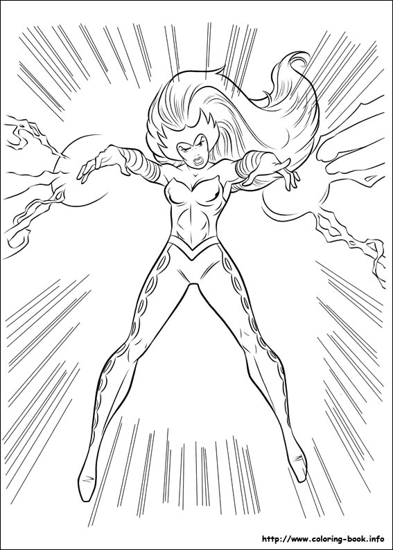 thor coloring page # 80