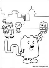 wow wow wubbzy coloring pages # 0