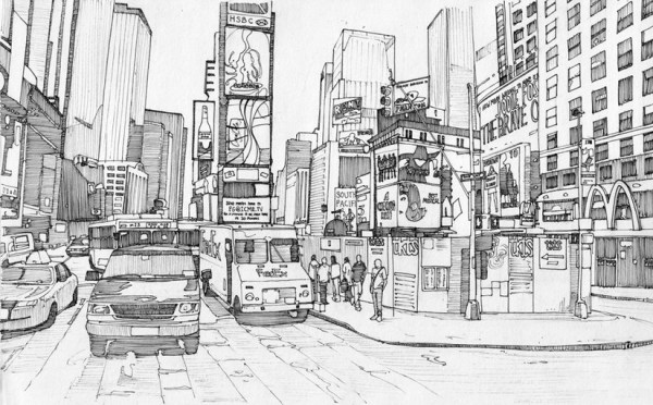new york coloring pages # 7