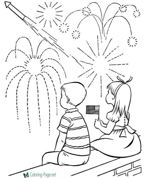 firework coloring pages # 66