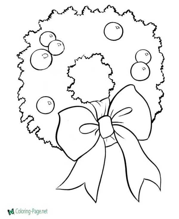 printable holiday coloring pages # 11
