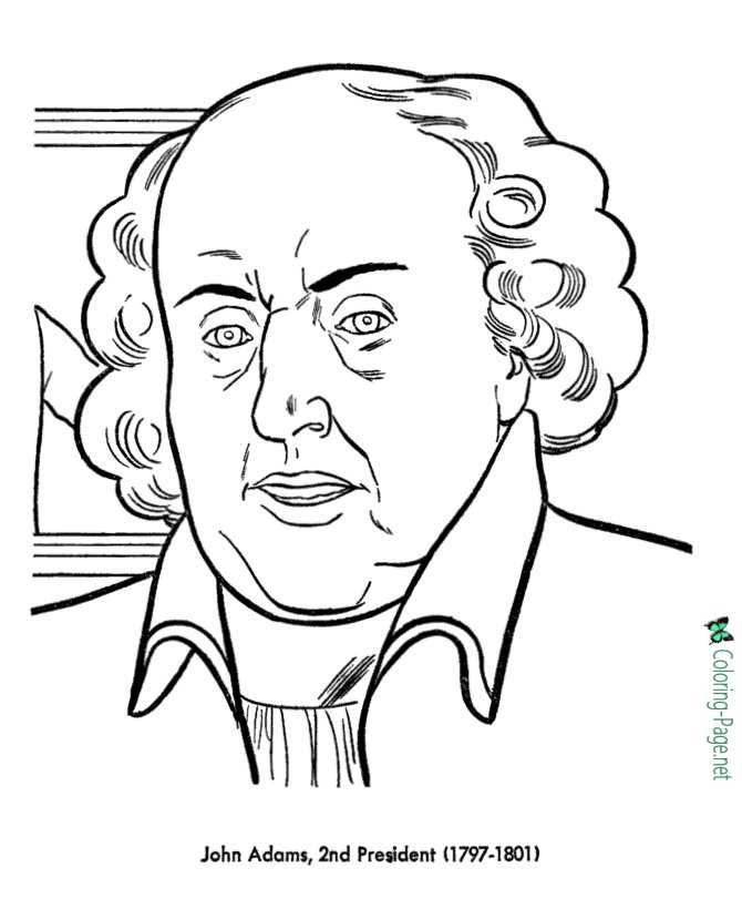 Gambar Us Presidents Coloring Pages John Adams Jpeg Png Gif - Best ...
