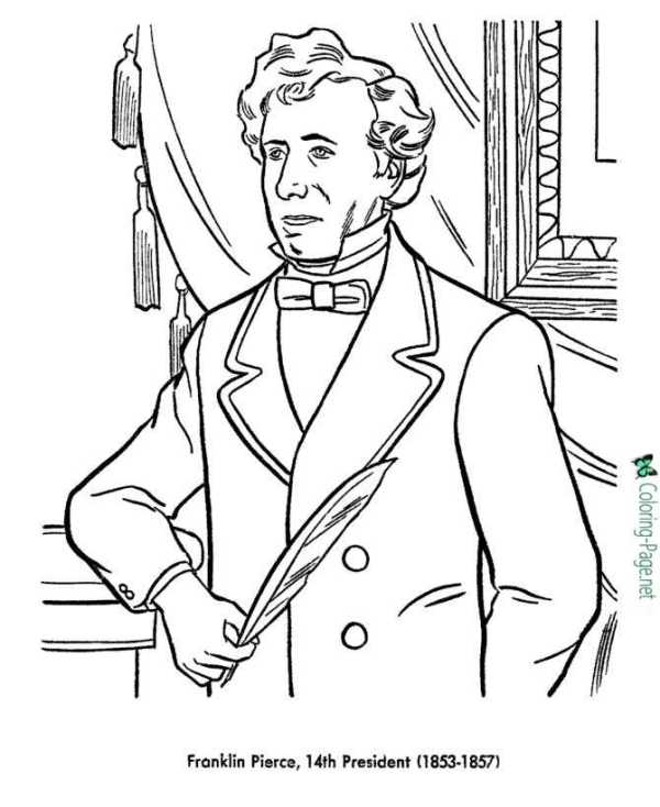 presidents coloring pages # 43