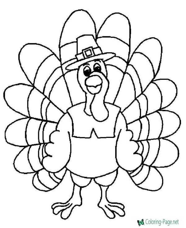 thanksgiving coloring pages printables # 4