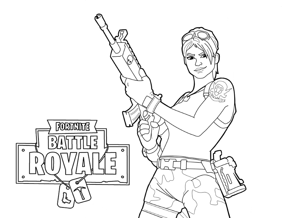 Fortnite Pages All Coloring Characters