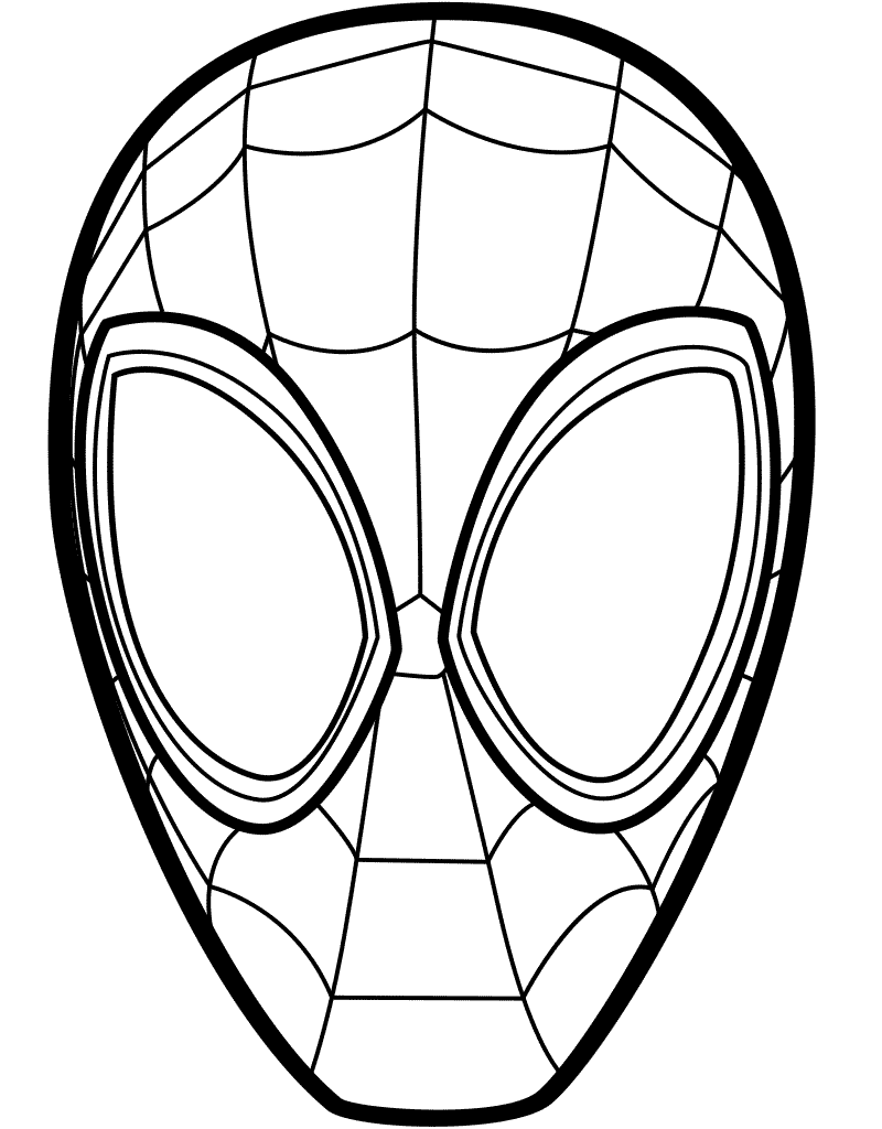Cool Chibi Miles Morales Coloring Pages | AnyOneForAnyaTeam