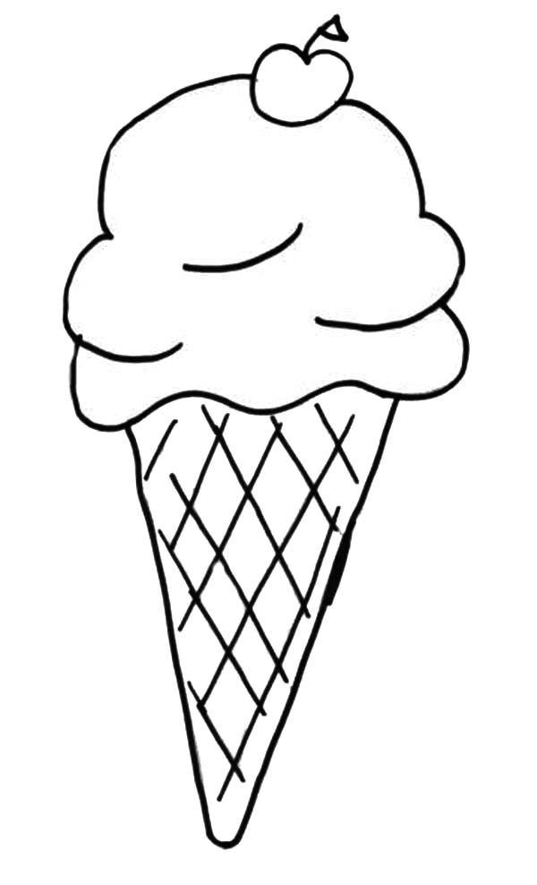 Ice Cream Scoop Template Printable
