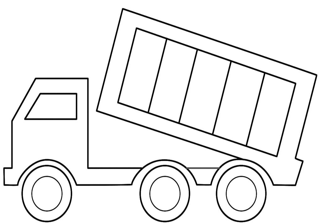 School Easy Simple Bus Drawings