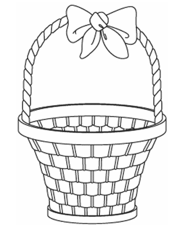 basket coloring page # 0