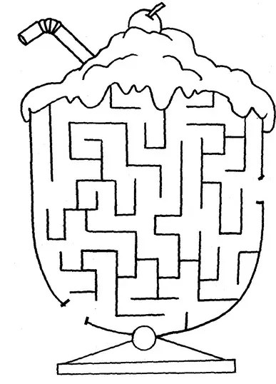 maze coloring pages # 69