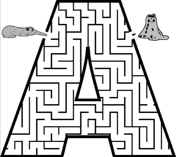 maze coloring pages # 30