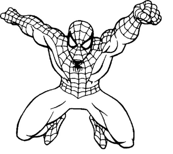 coloring pages of spiderman # 6