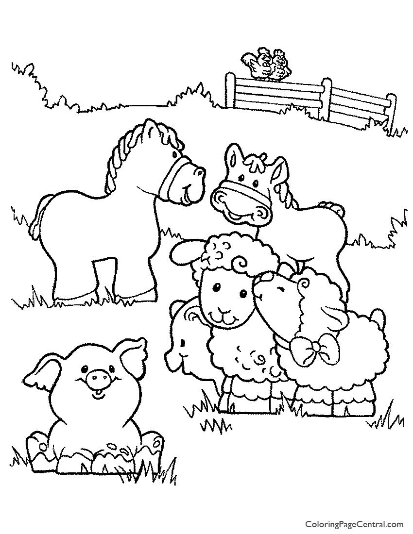 coloring page donkey pinata template