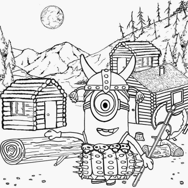 viking coloring pages # 20
