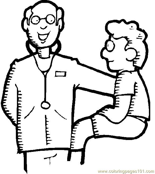 doctor coloring page # 67