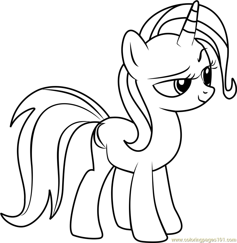List of My Little Pony Trixie Coloring Pages Pict - Best Pictures
