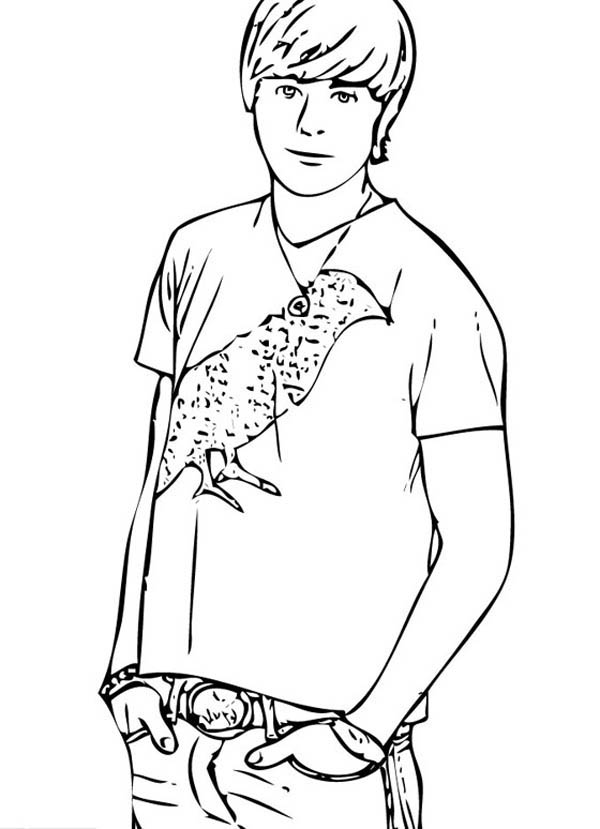 high school musical coloring pages # 54