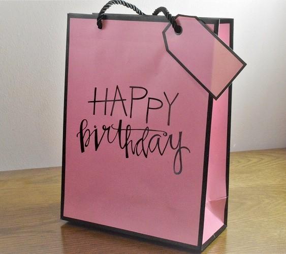 Presents Birthday Pink Happy