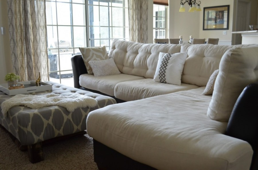 Retrofied  4 Different Tufting Styles For Your Sofa  buttonless tufted sofa