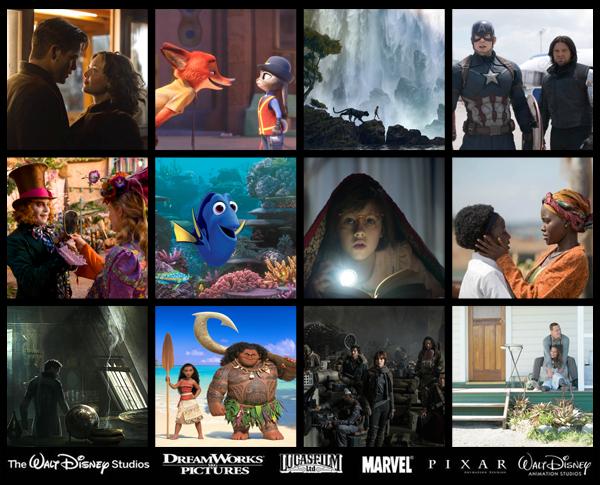 2016 List of Disney Movies - Comic Con Family