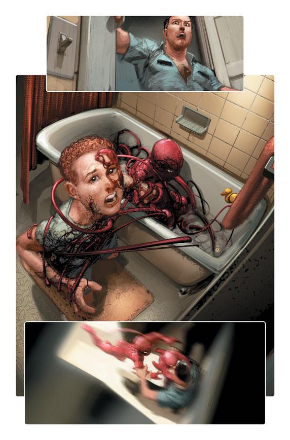 Carnage Suit Spider Man