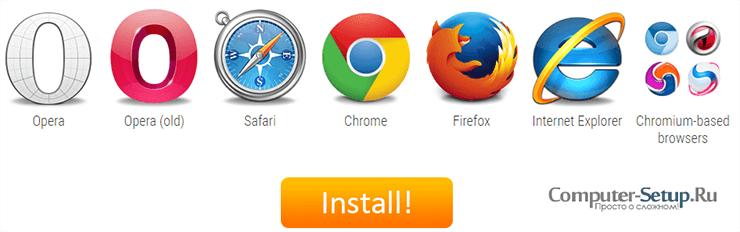 Extensiile FASTETUBE și pluginurile pentru browserul dvs.