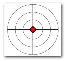 free printable shooting target # 8